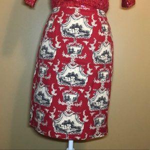 Talbots size 6 pencil skirt
